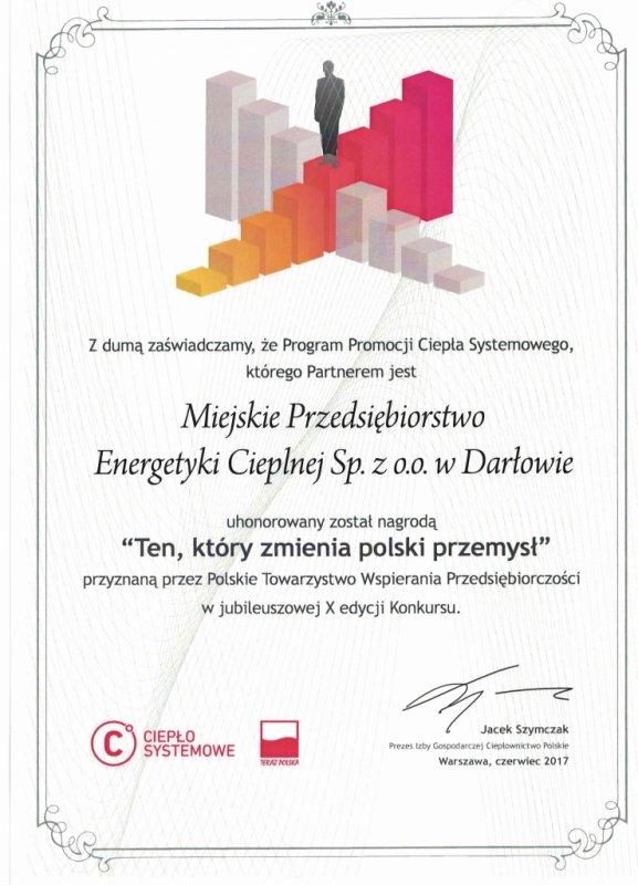 Ten który zmienia polski przemysł